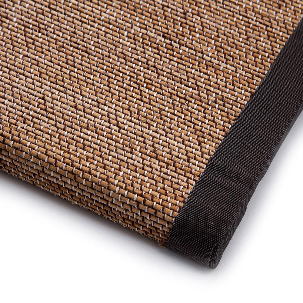 ずれにくい厚手丸竹システム畳 82 ベージュ