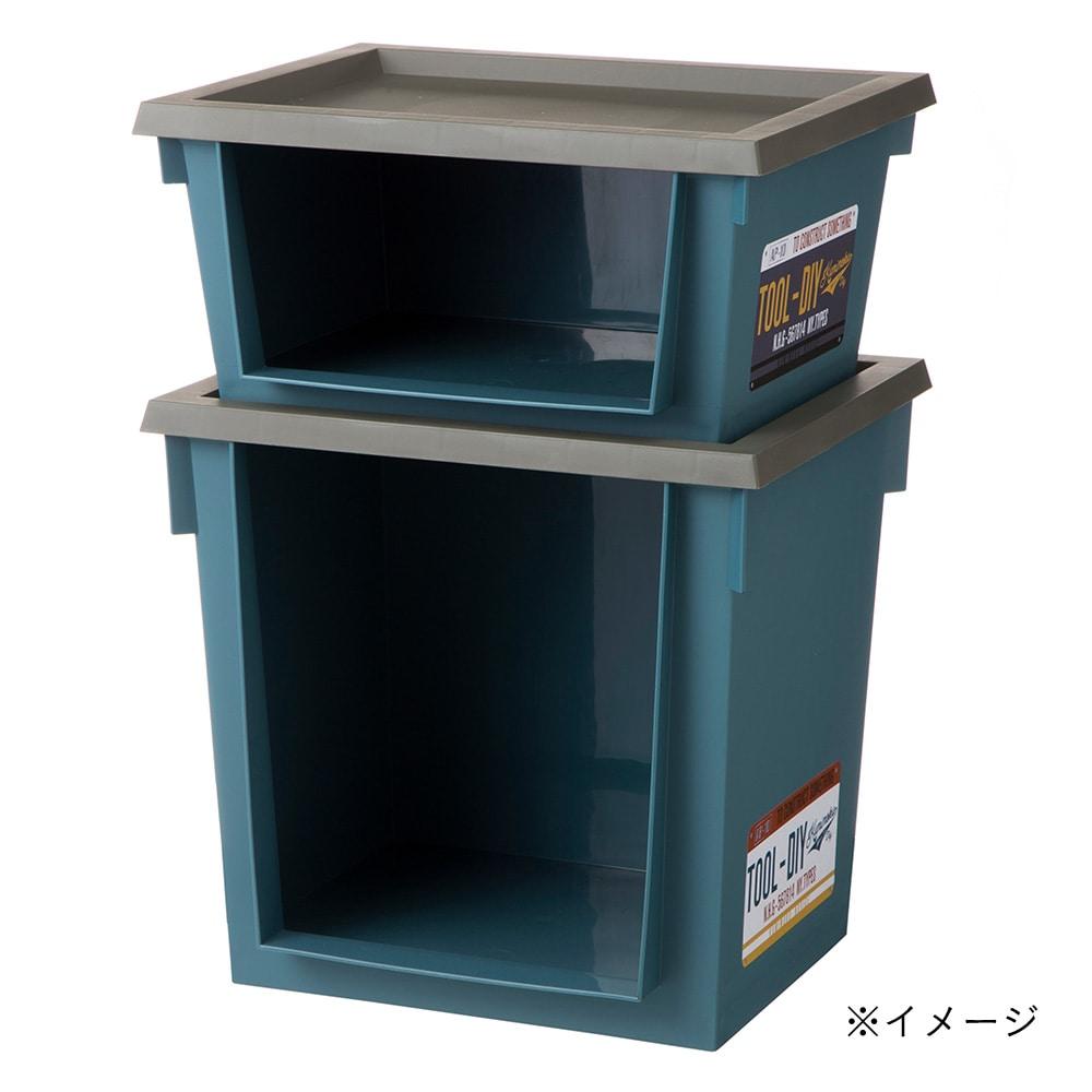 Kumimoku ツールラック 浅型 ブルー