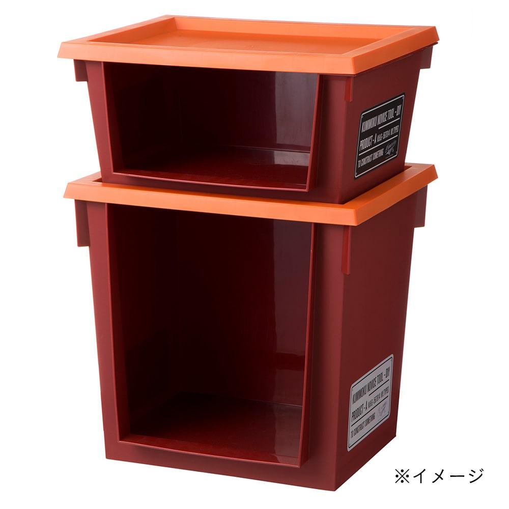 Kumimoku ツールラック 深型 レッド