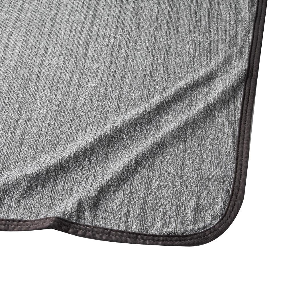 【2019春夏】もっとひんやり消臭ケット シングル140×190 ブラック