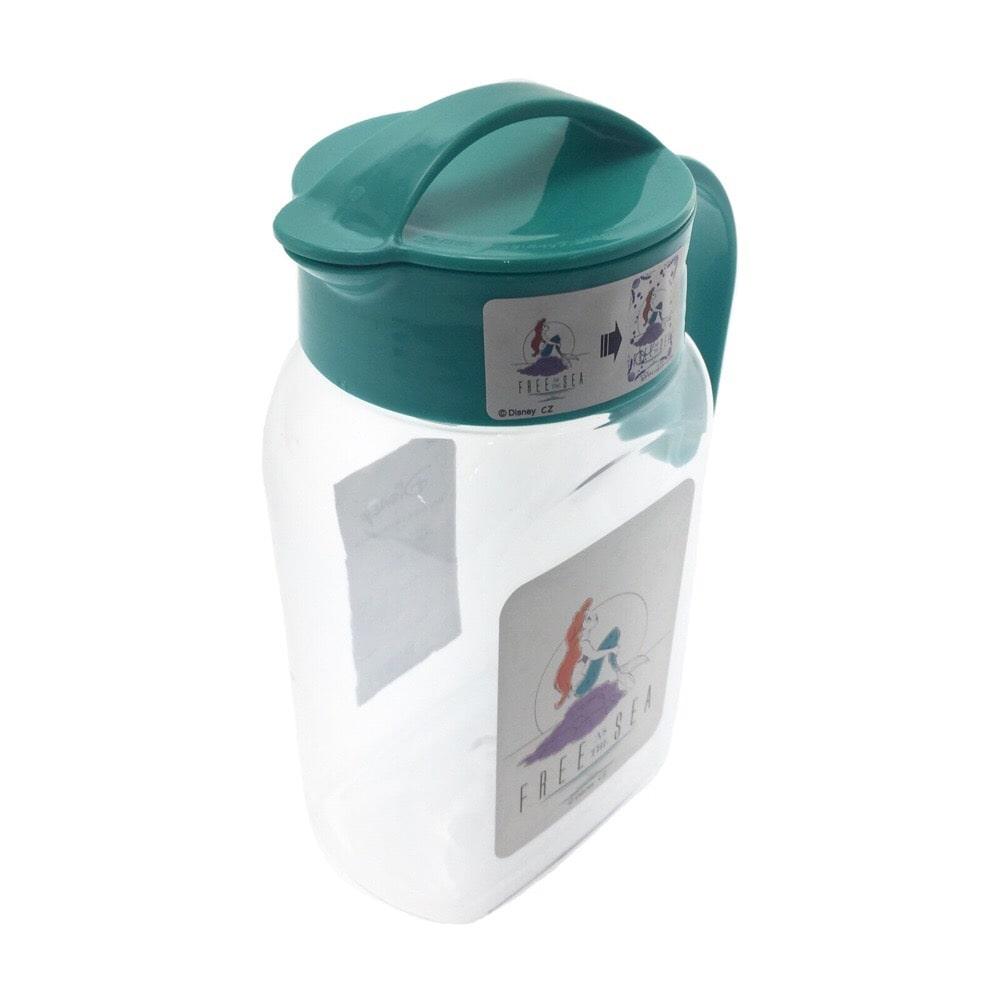 【数量限定・2019春夏】飲み頃になると柄が変わる冷水筒 1.8L アリエル