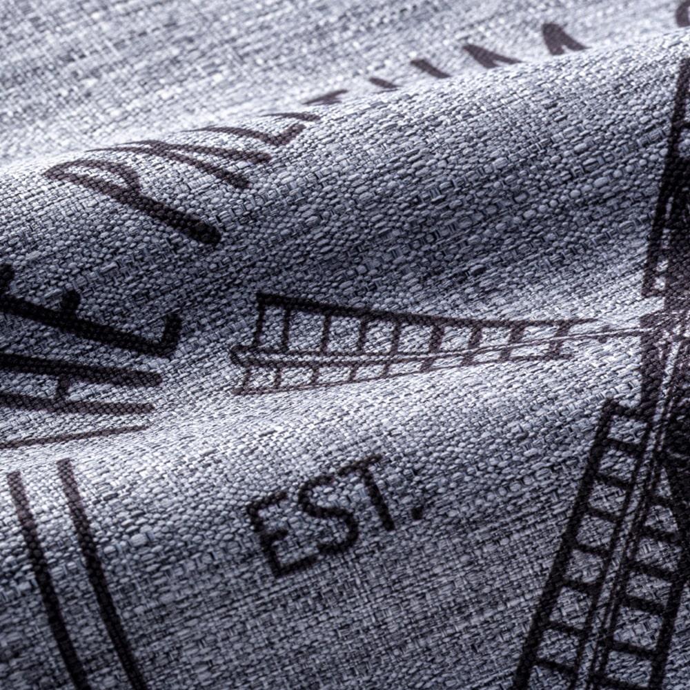 カフェカーテン カントリー 150×75cm