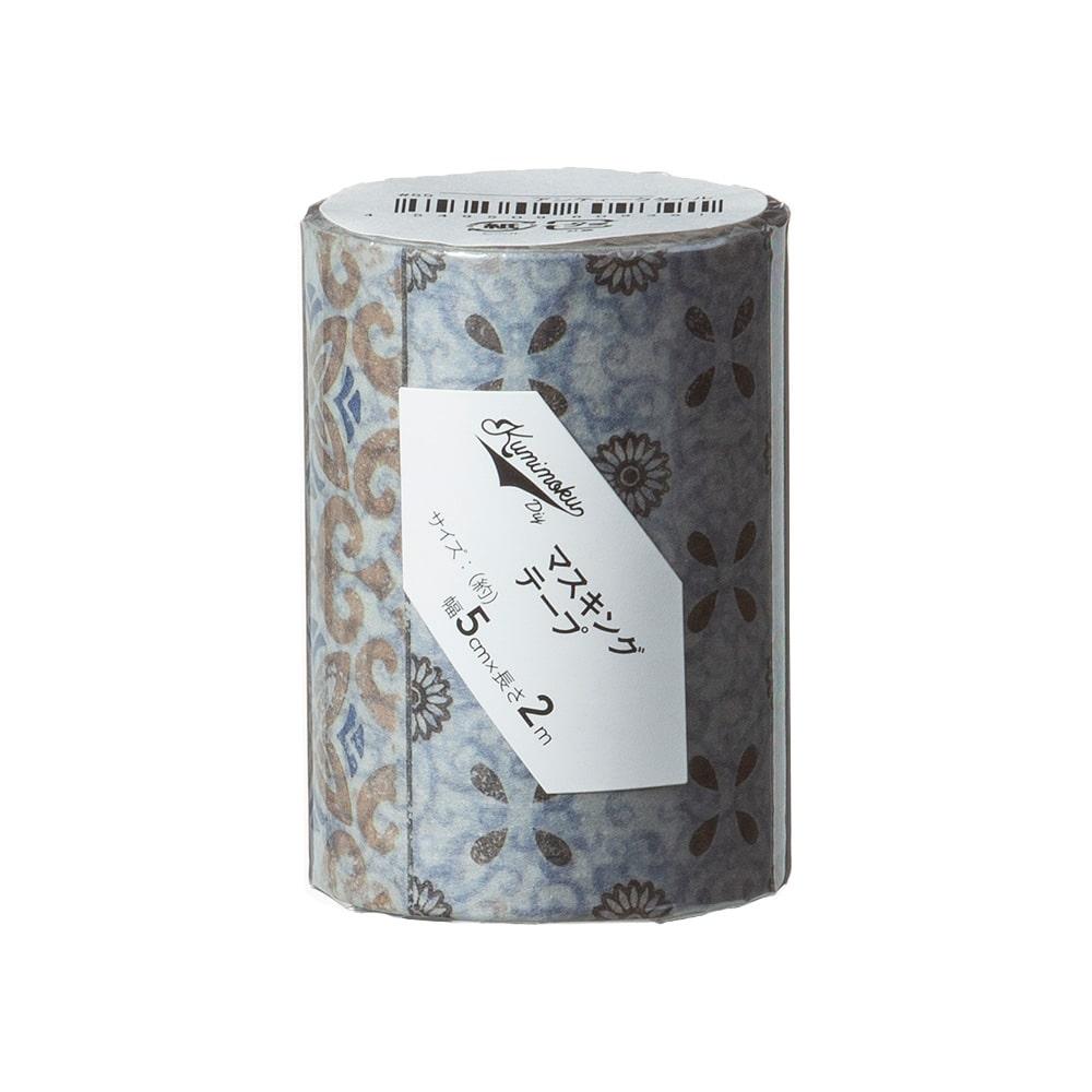 Kumimoku マスキングテープ アンティークタイル 5cm×2m