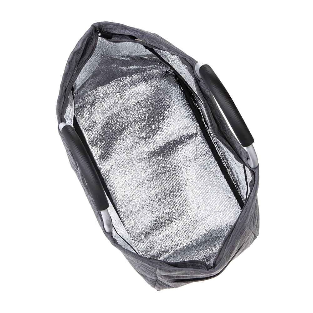 軽量保冷トートバッグ グレー