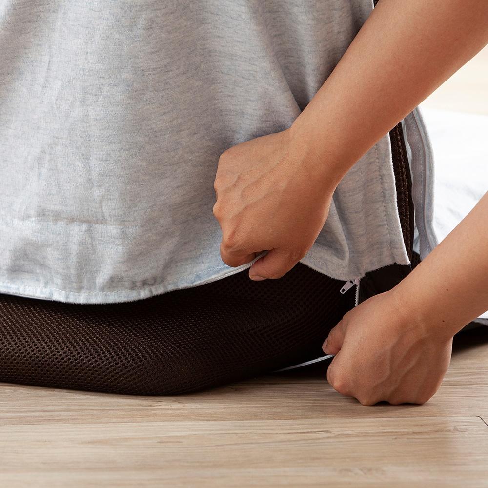 洗える倒れにくい座椅子専用カバー ミッキーマウス