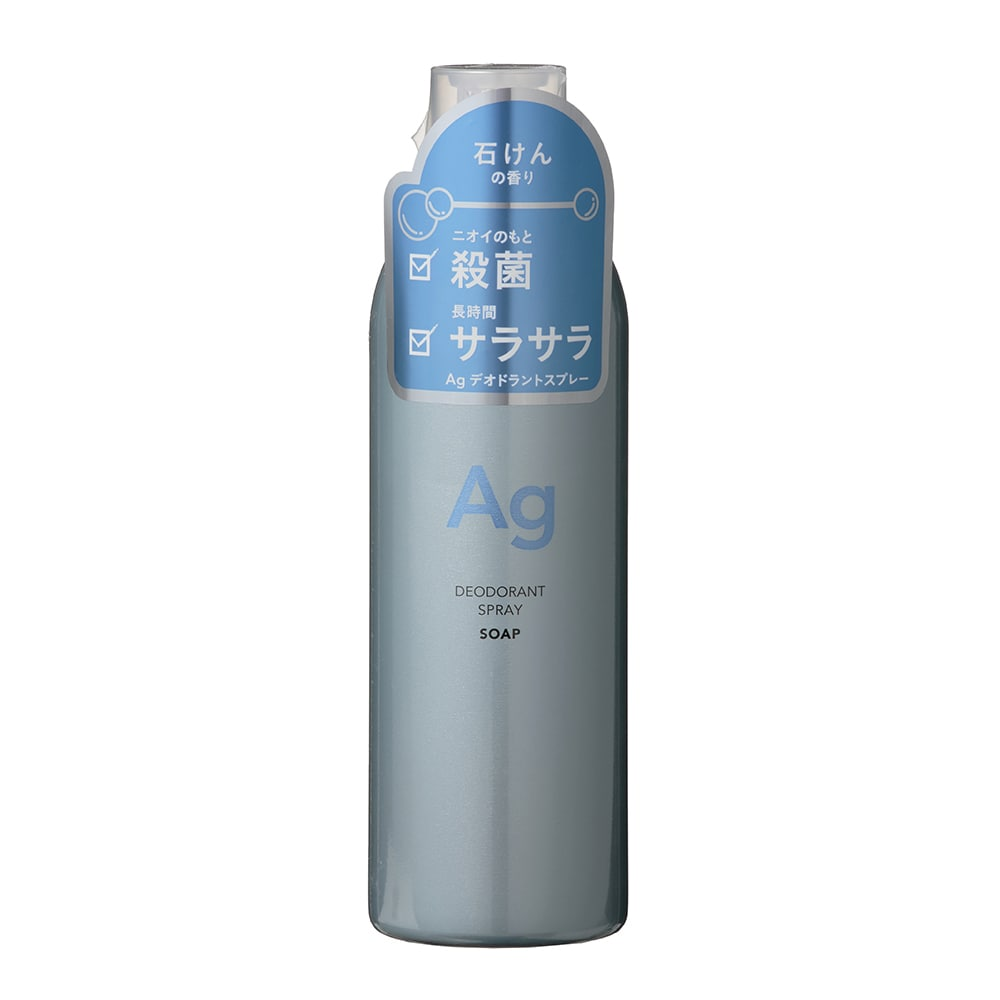 CAINZ AGデオドラントパウダースプレー せっけんの香り 240g