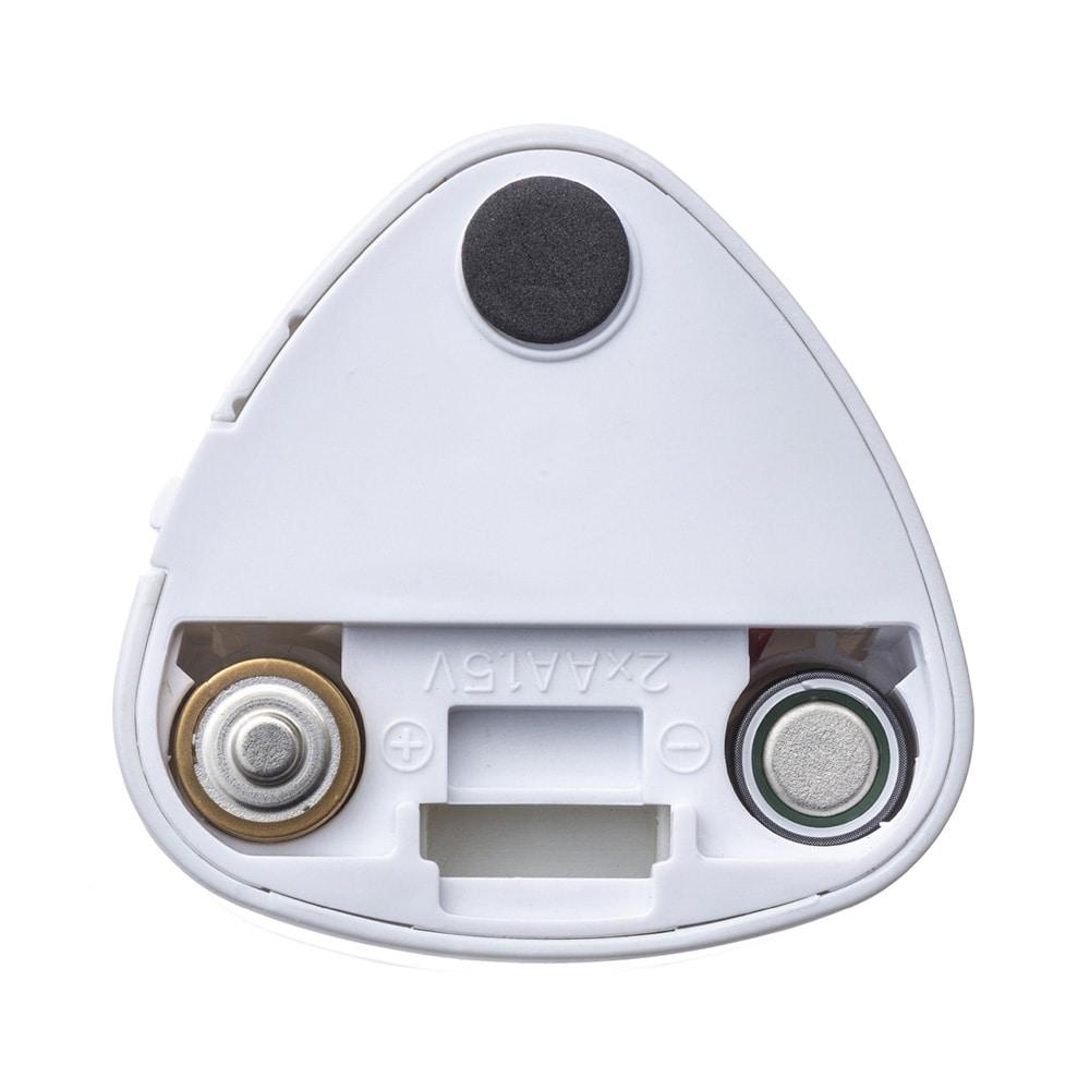 電池式鉛筆削りコンパクト(替え刃 2個付き)ホワイト