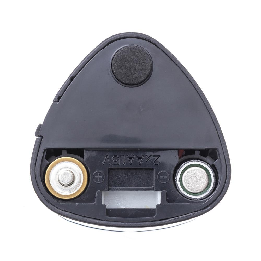 電池式鉛筆削りコンパクト(替え刃 2個付き)ブラック
