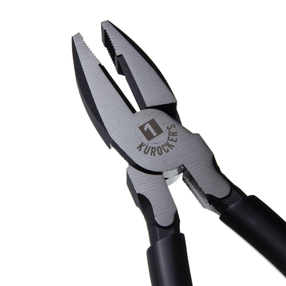 【1年保証付き】KUROCKER'S 偏芯強力ペンチ 200mm