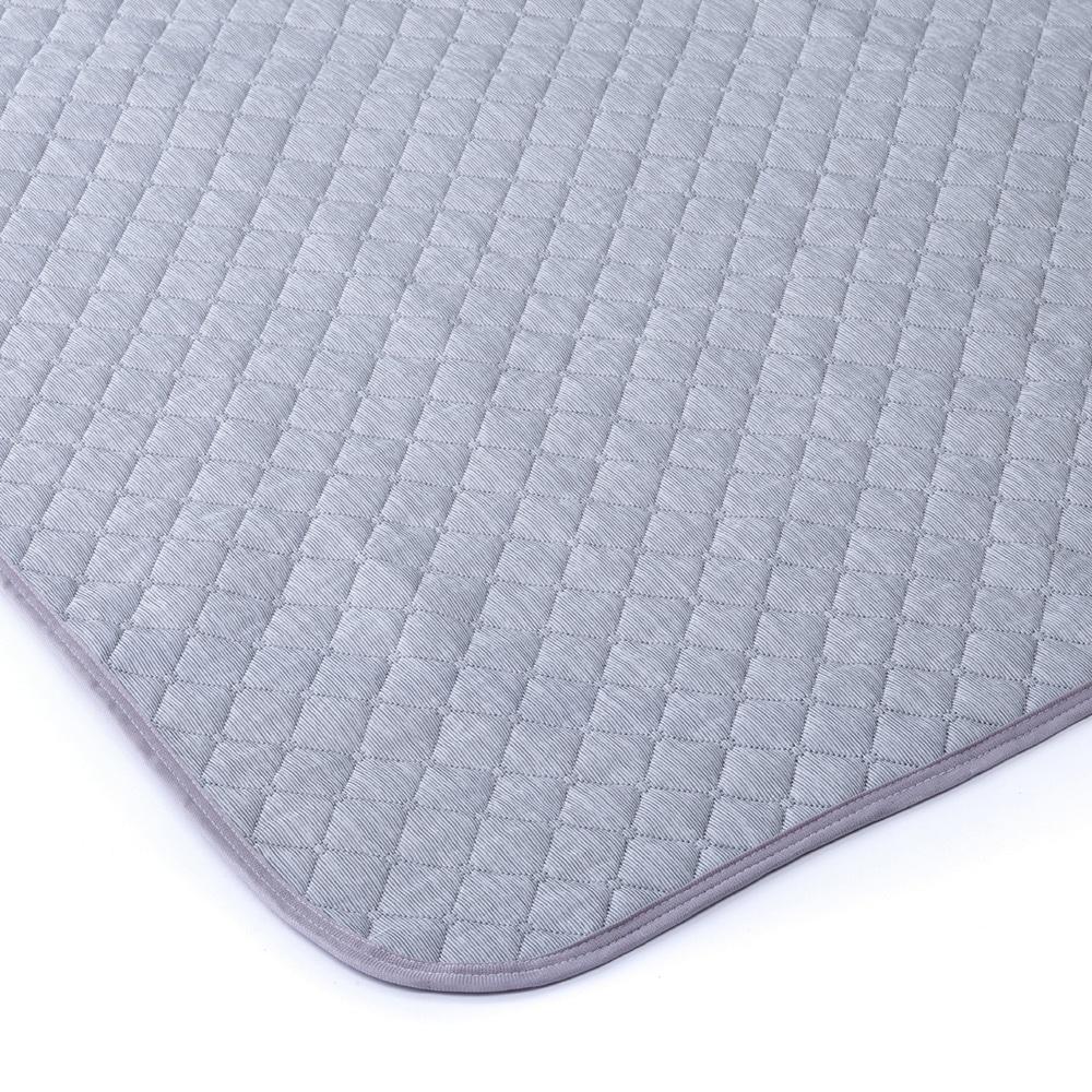 【数量限定】洗ってもすぐ乾くひんやり消臭敷きパッド シングル グレー