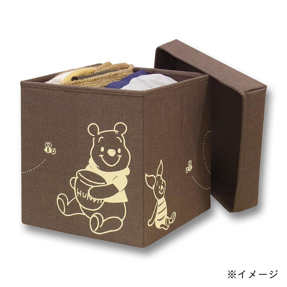 【数量限定】収納BOXスツール30W プ−さん