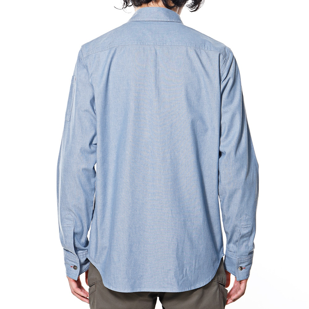 EDW ダンガリーシャツ  ブルーM