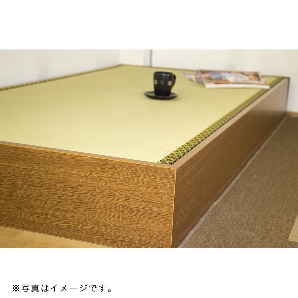 ヘッドレス床下収納 畳ベッド D-62-31-S【別送品】