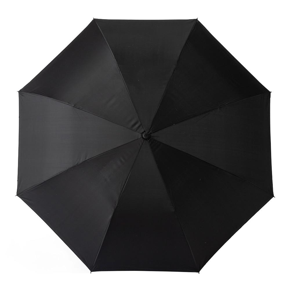 両手が使える逆さ傘 60cm グレー