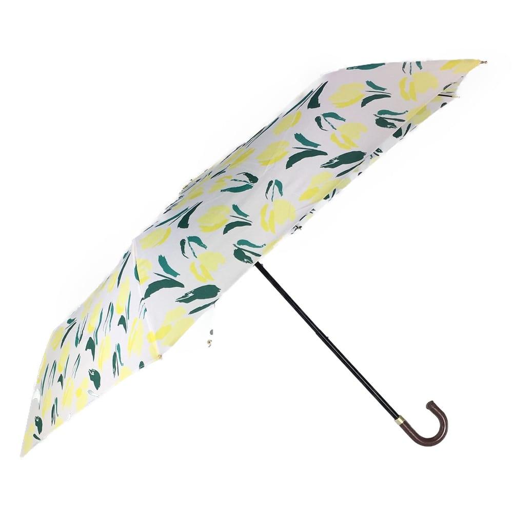 オールシーズン対応折傘 チューリップ 50cm 黄