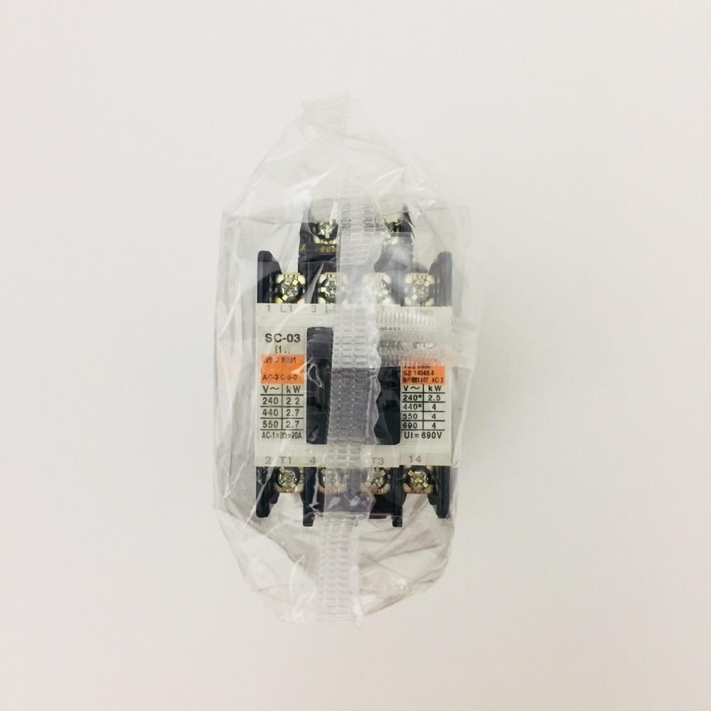 電磁接触器AC200V1A SC-03 AC2