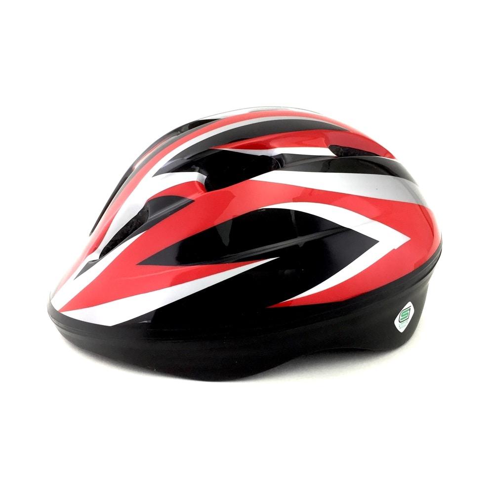 吸汗速乾サイクルヘルメットCMX02 RD/BKM