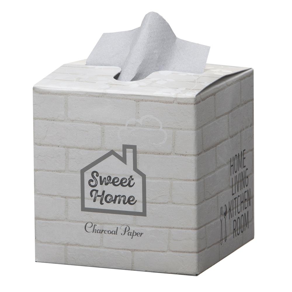 エステー 脱臭炭 ニオイとり紙 SIMPLE ホワイト