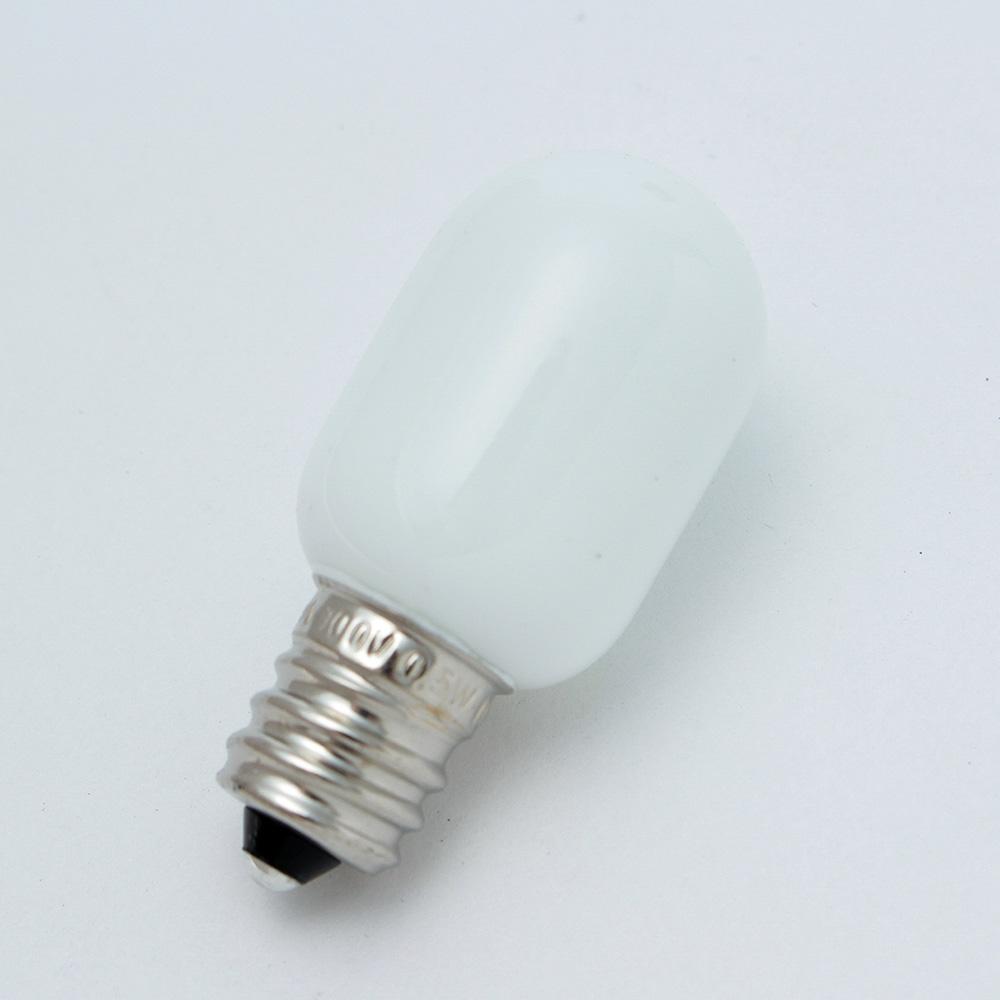LEDナツメ形 白   口金E12 G100