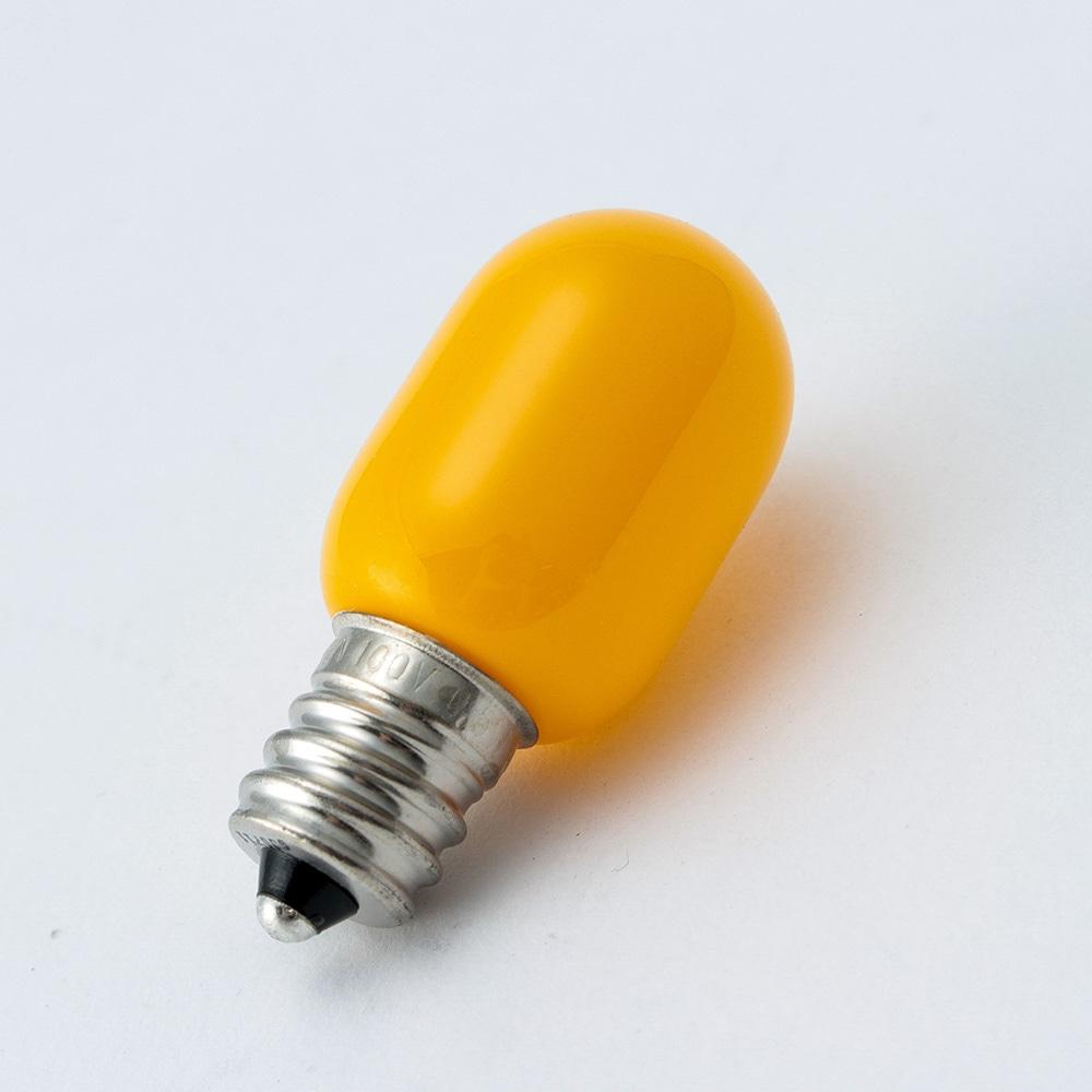 LEDナツメ形 黄   口金E12 G103