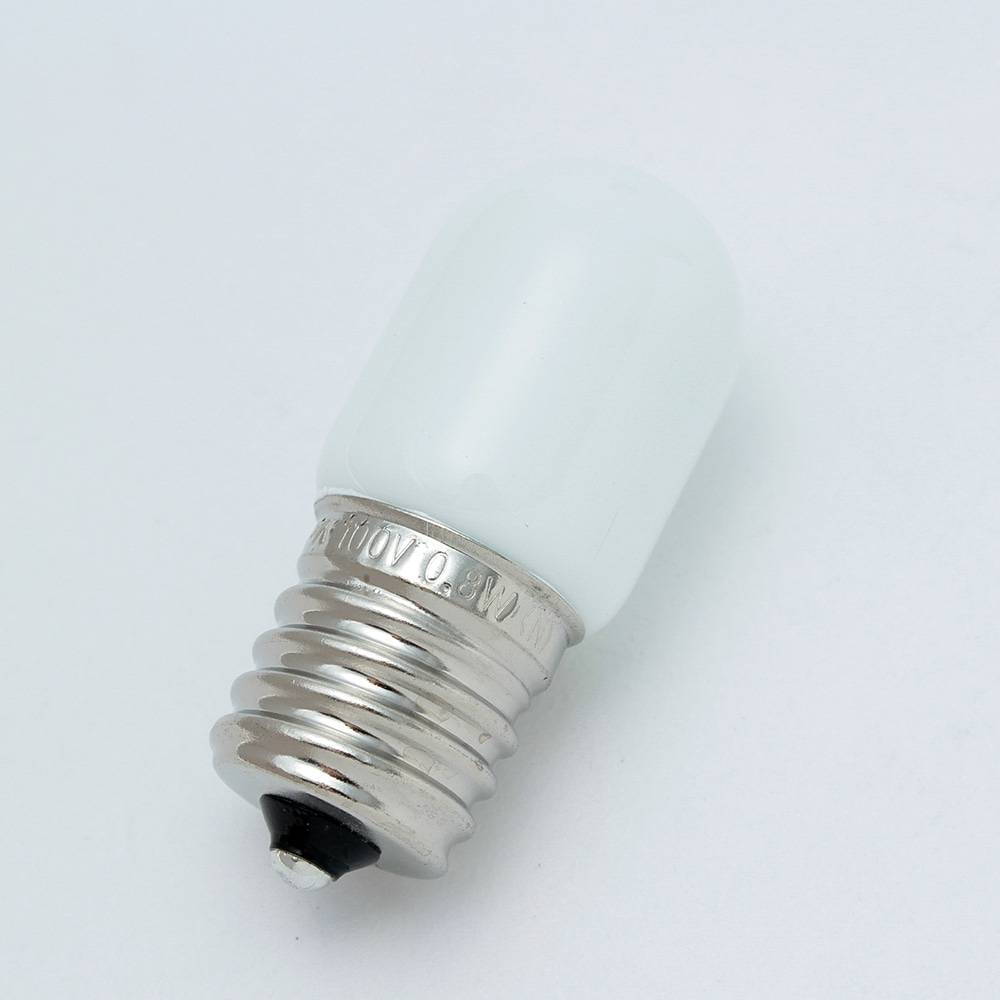 LEDナツメ形 白   口金E17 G110