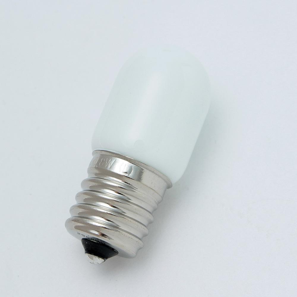 LEDナツメ形 電球色 口金E17 G111