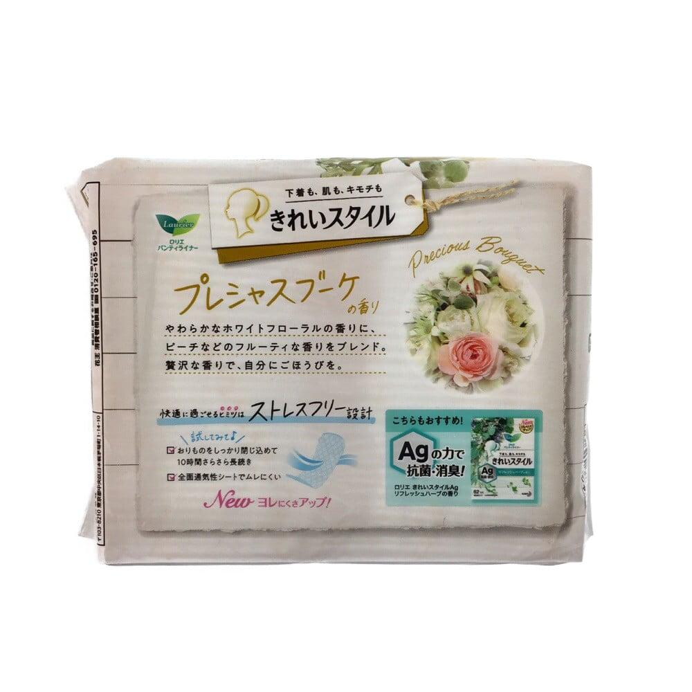 花王 ロリエ パンティライナー きれいスタイル プレシャスブーケの香り 72個