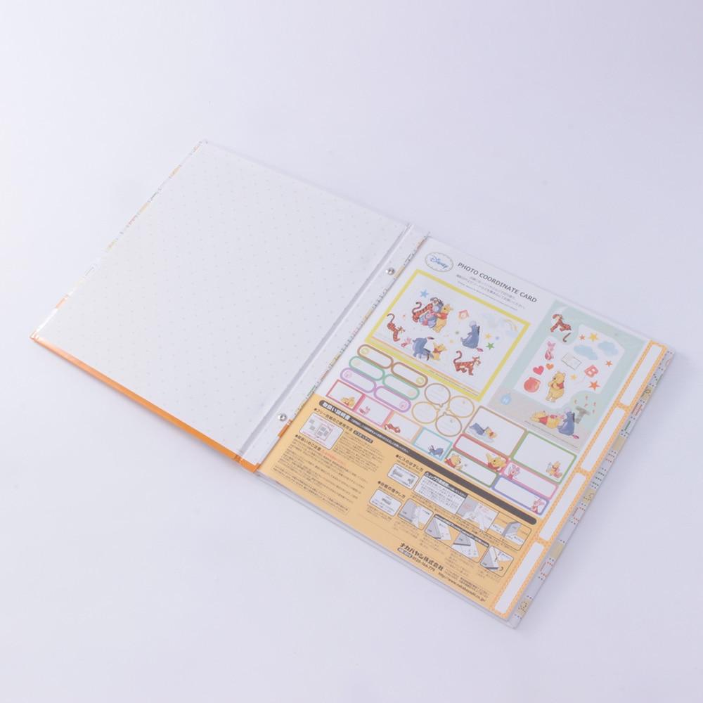 ディズニー フヤスアルバム プー LF-1201-3