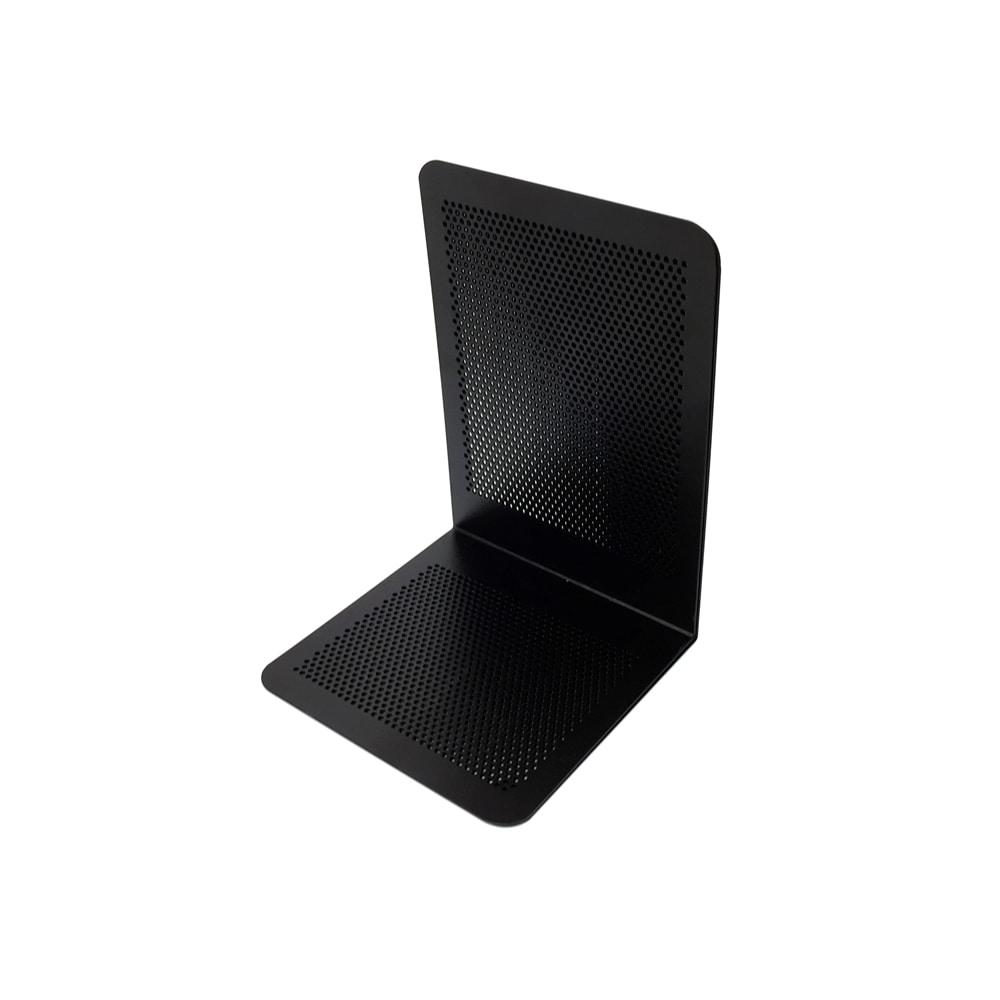 ナカバヤシ ブックエンド Pタイプ Mサイズ ブラック