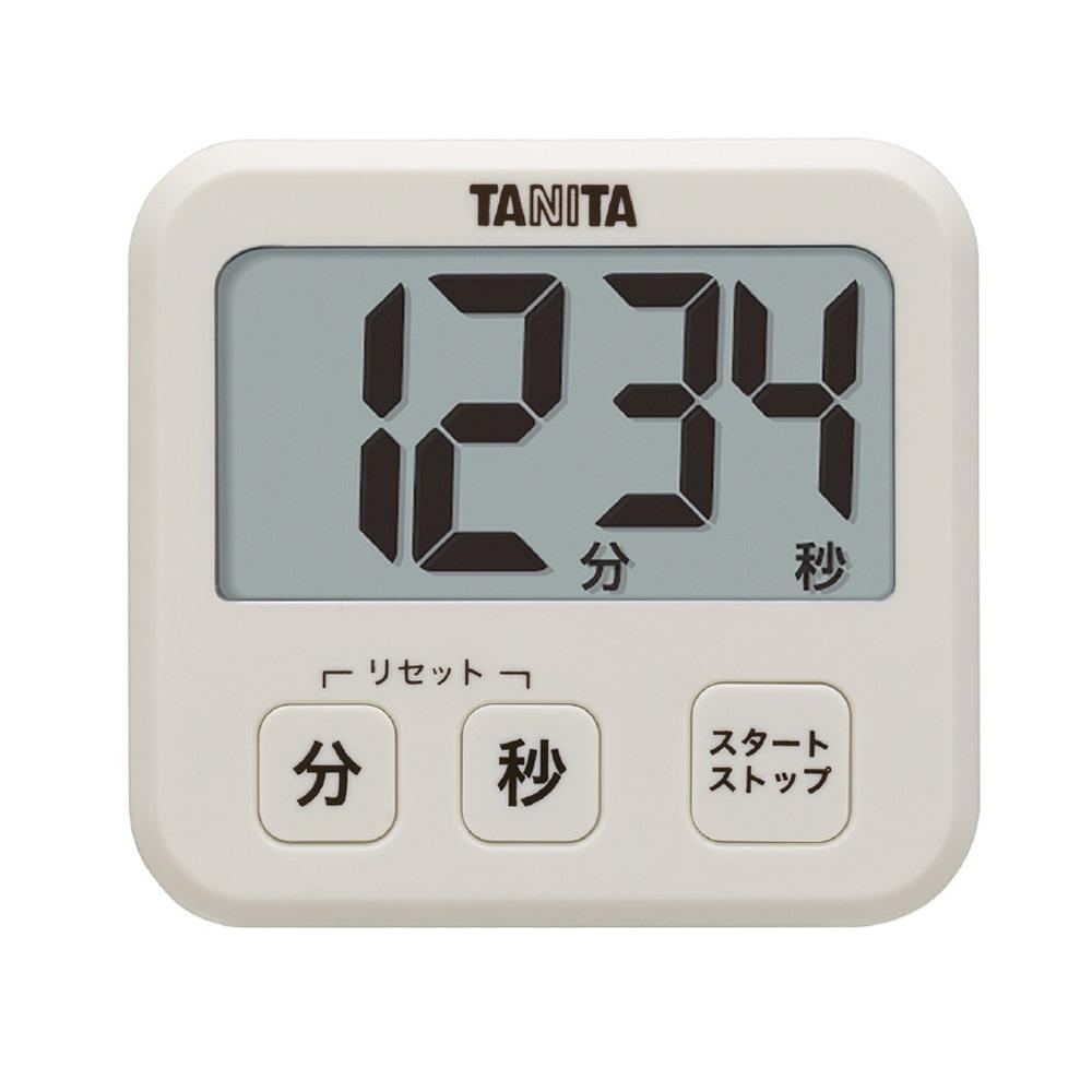 TANITA タニタ デジタルタイマー TD416 アイボリー