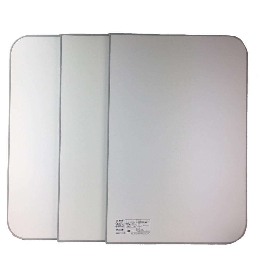 風呂ふた ecoウォームneo グレー L15 73×148cm