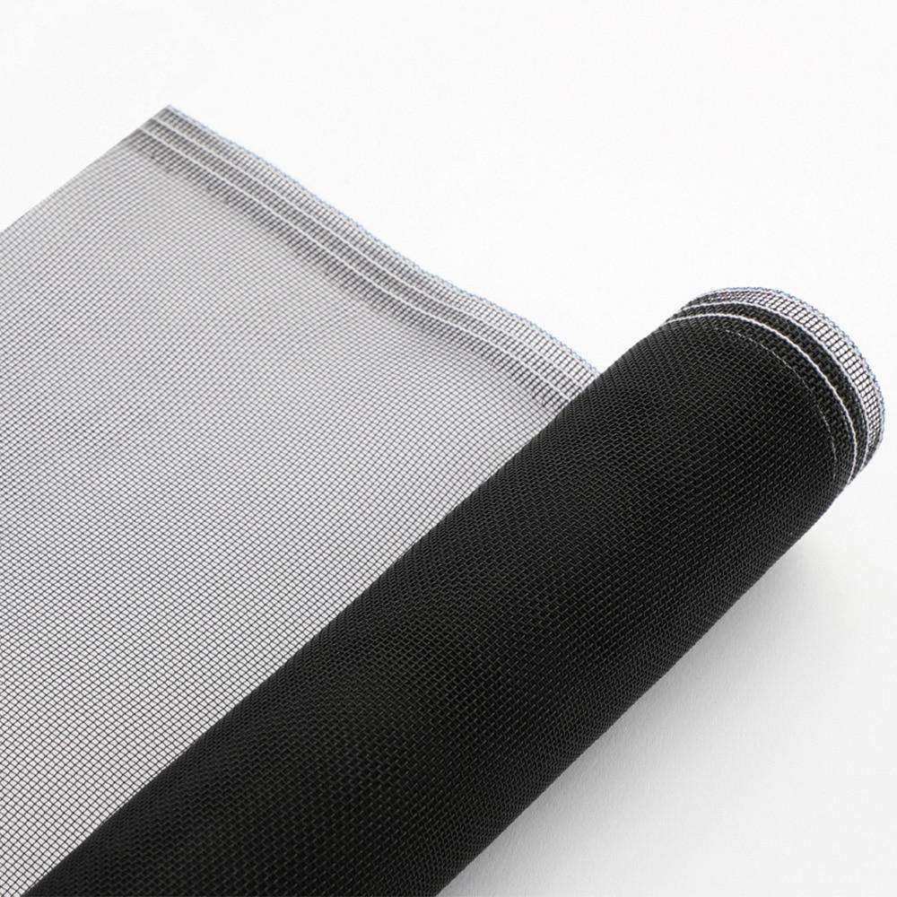 網戸張替えネット 防虫網 虫退散 91cm×2mブラック