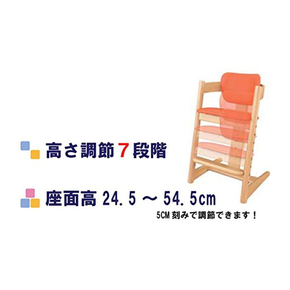 キャロット マルチチェア ビーチ/PVC N/OG【別送品】