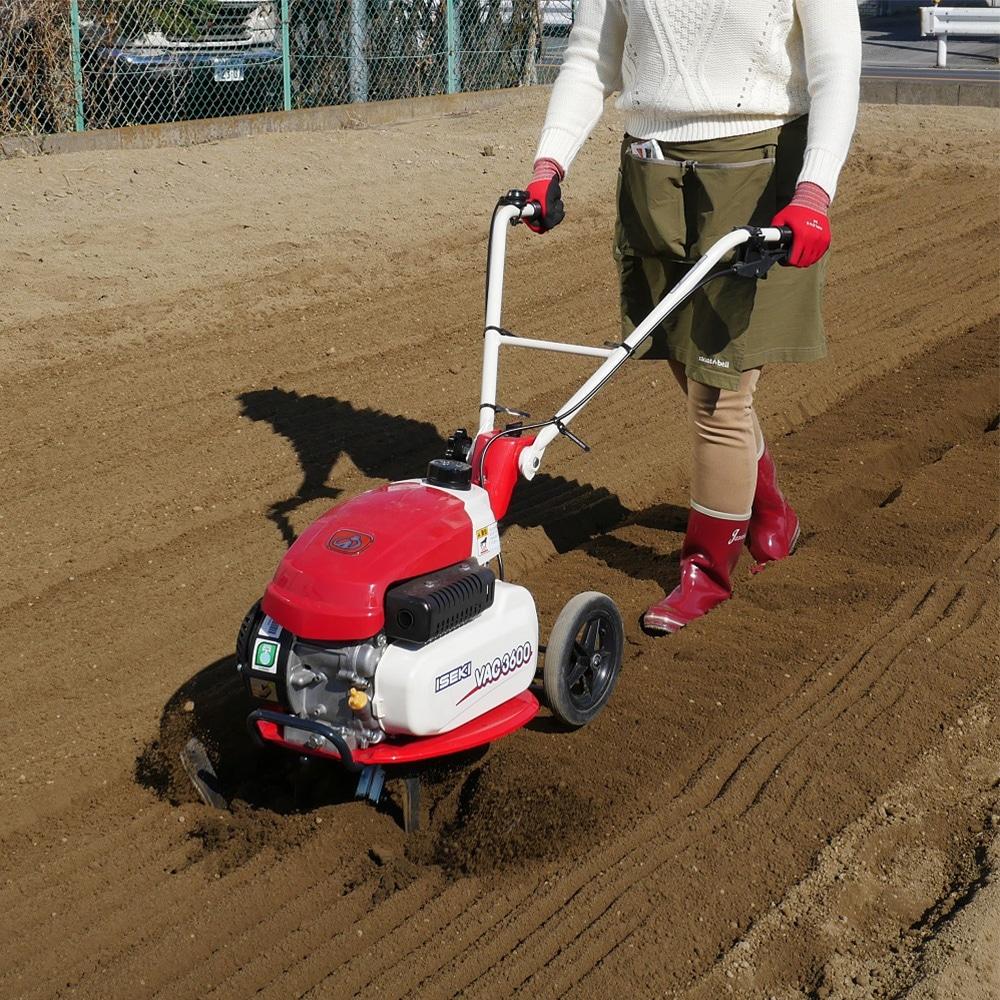 家庭菜園用 小型耕うん機 VAC3600【別送品】