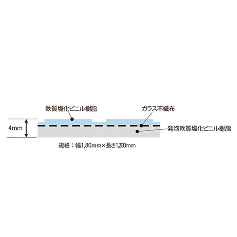 HCあんから1.2m アイボリー【別送品】