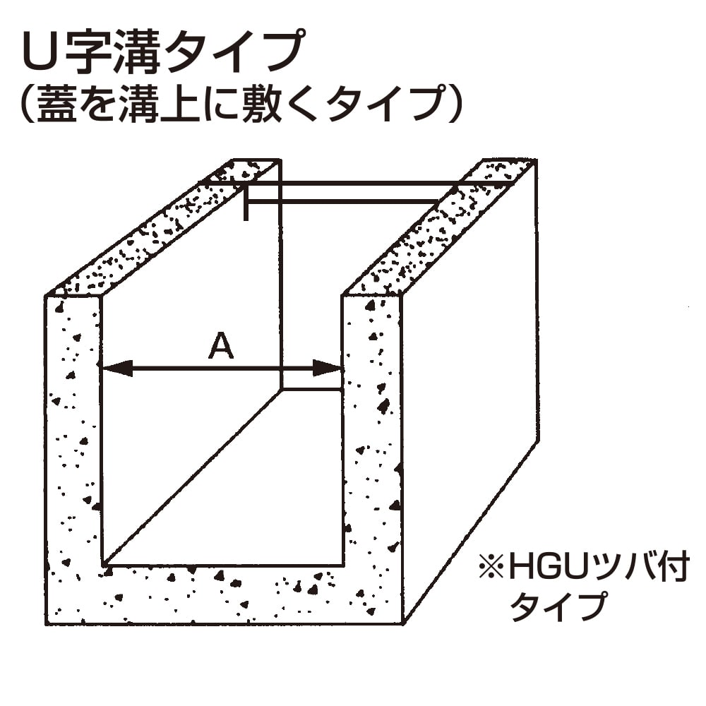 U字溝グレーチング HGU150−19【別送品】