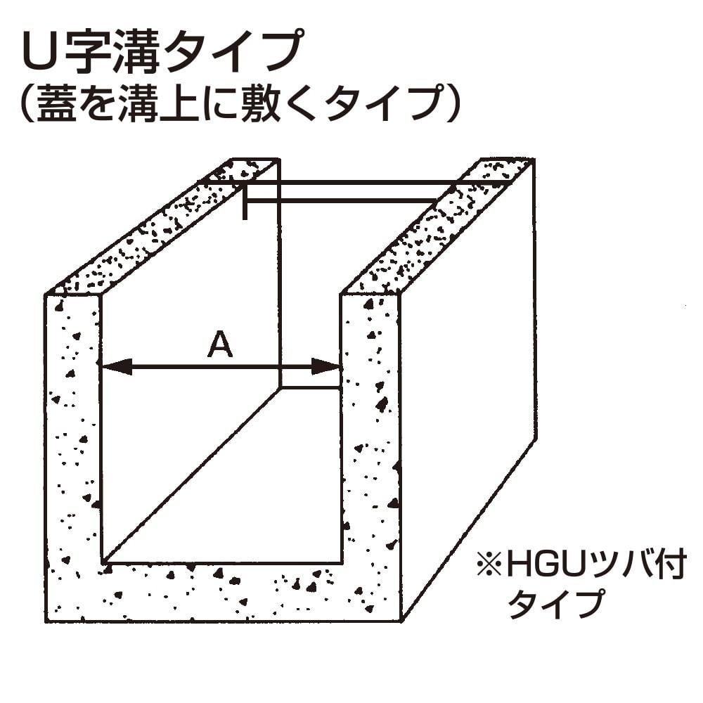 U字溝グレーチング HGU180−19【別送品】