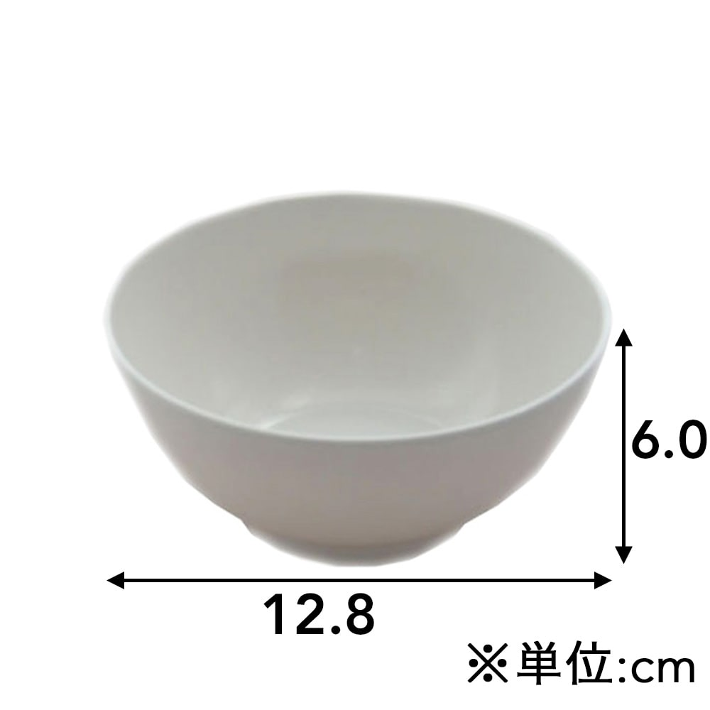 割れにくい飯碗 MM−1206
