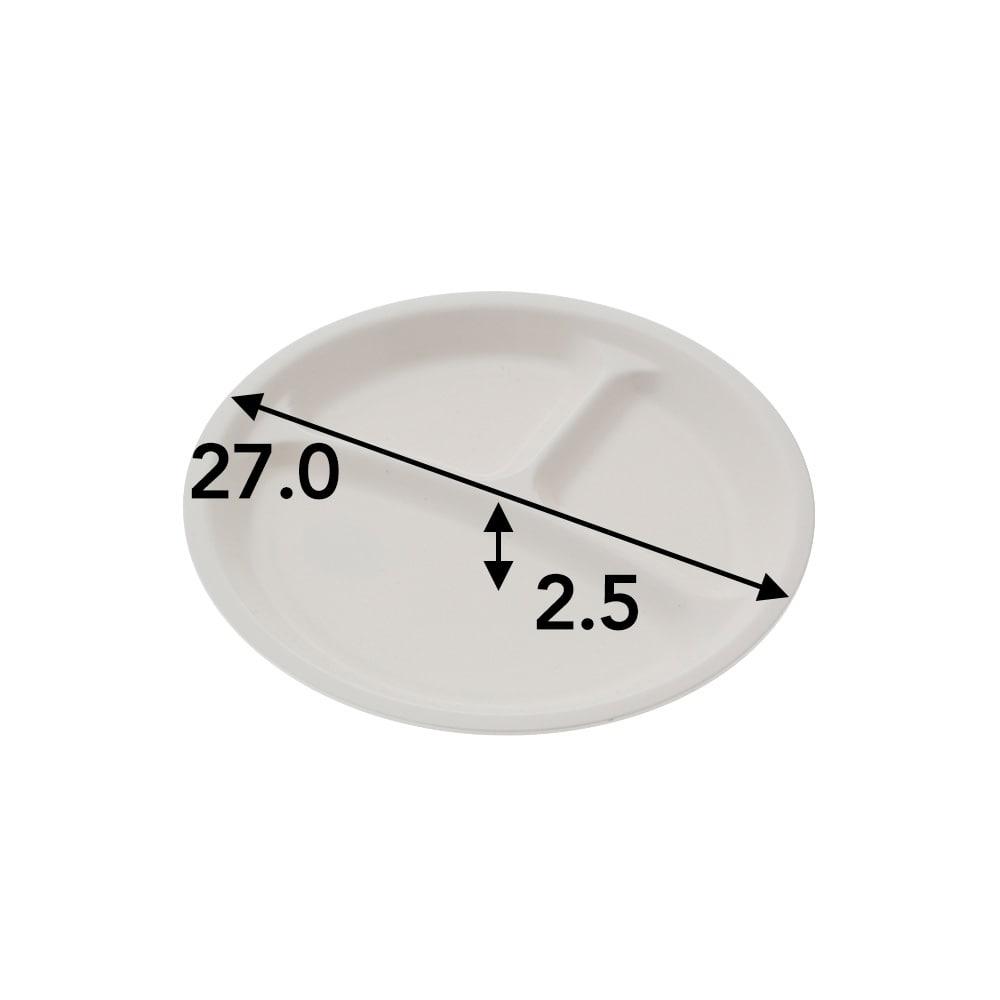 割れにくい ランチプレート MLP−27