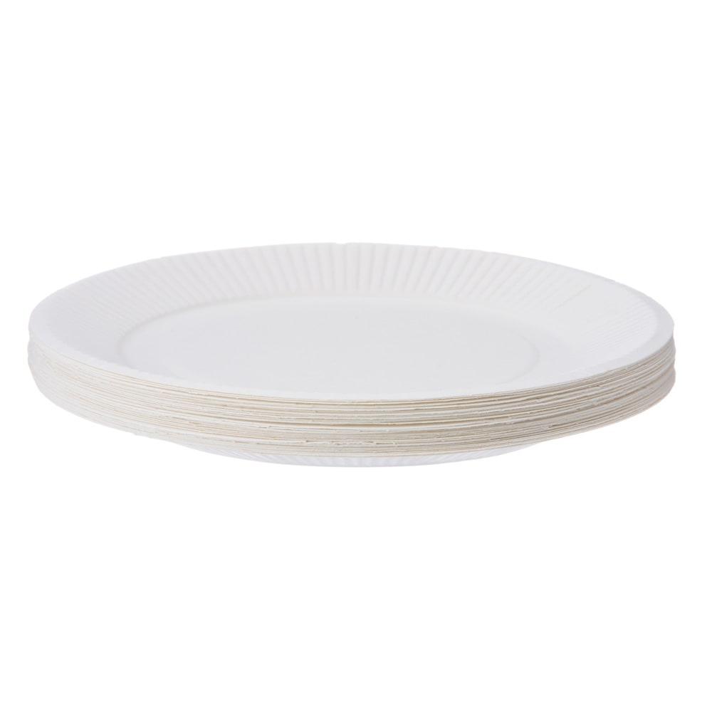 紙皿 18cm 30個 KZ18-30
