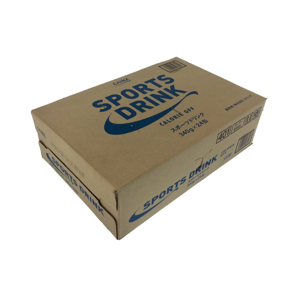 【ケース販売】カインズ スポーツドリンク 340g×24缶(1缶あたり約37.5円)