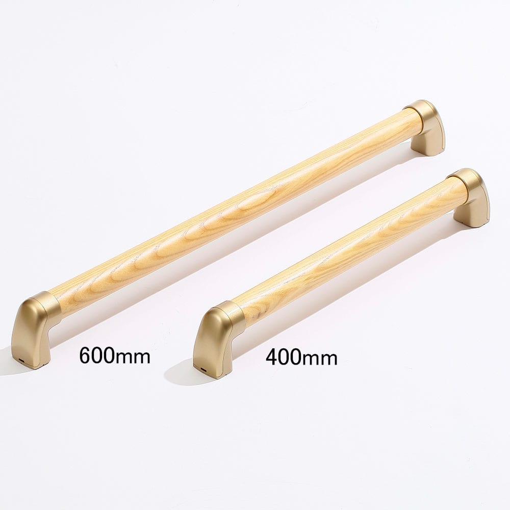 すべり止め加工の室内木製てすり 400mm TCH2