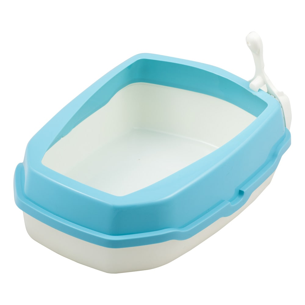 キャットトイレ ブルー