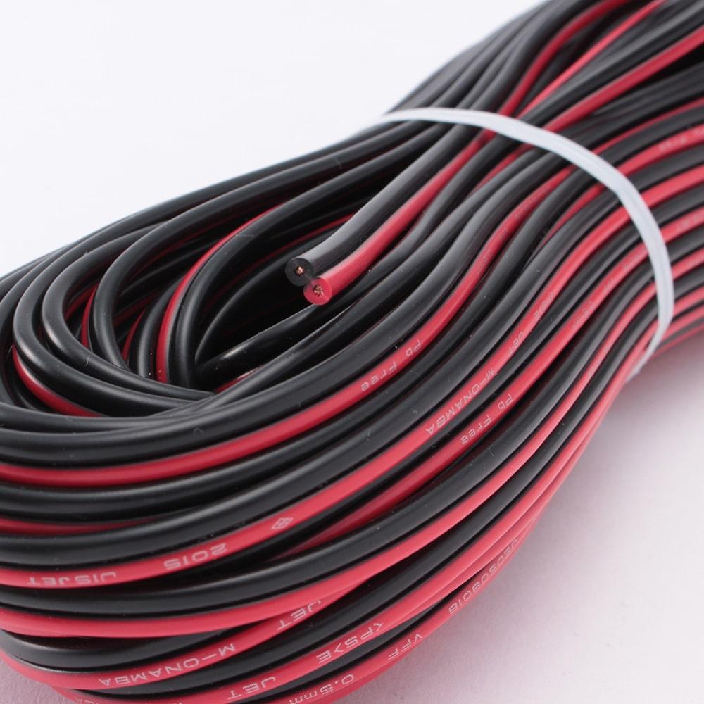 VFF 0.5 20M (赤/黒)