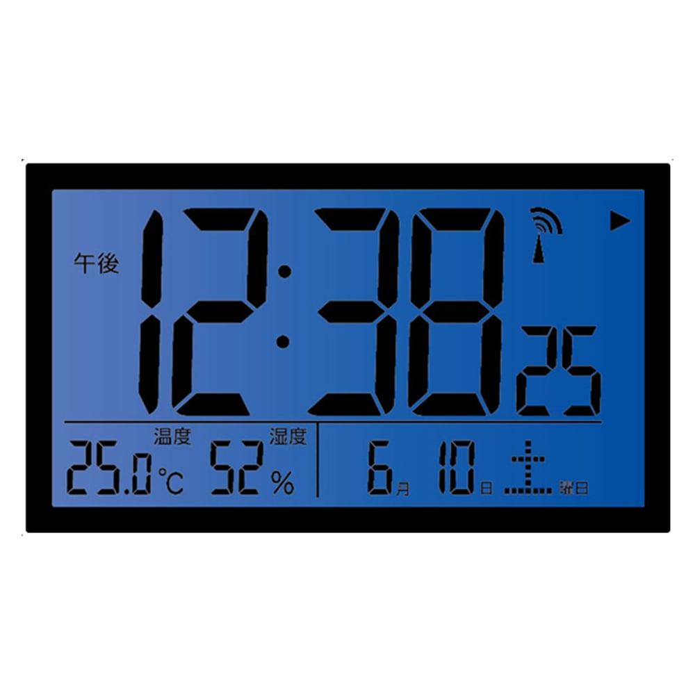 ノア精密 環境目安表示機能付き電波時計 エアサーチミチビキ T-727WH-Z
