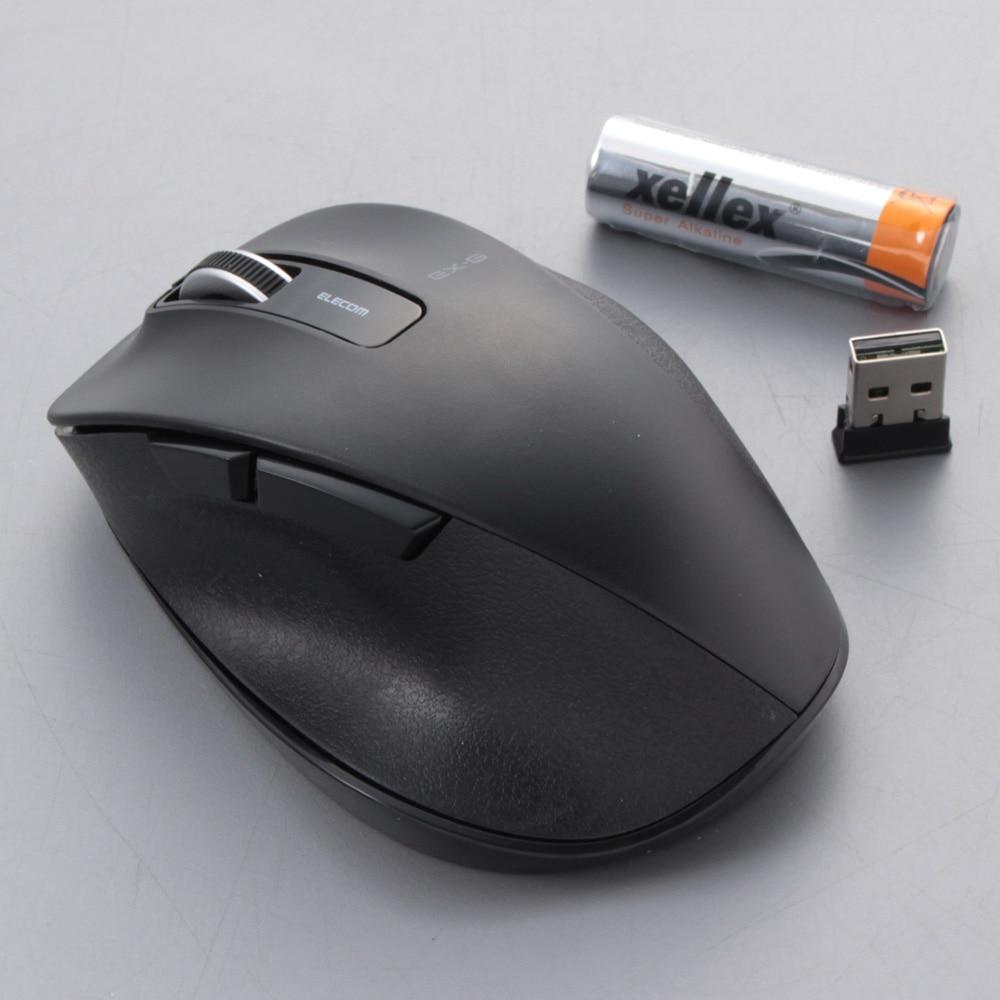 エレコムBlueLEDマウスM−XGM10DBBK