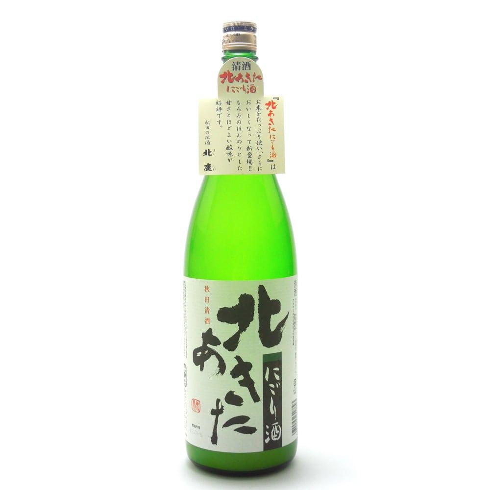 北あきた にごり酒 1800ml【別送品】