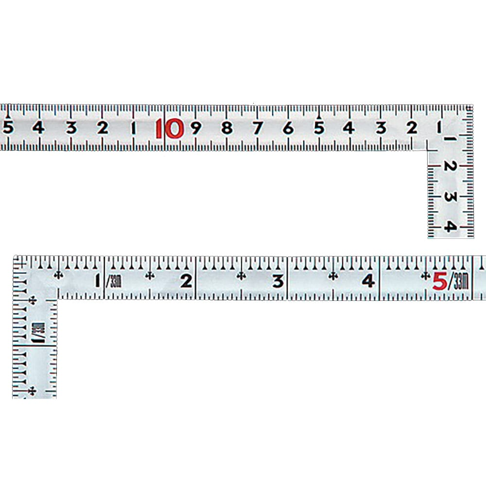 曲尺同厚 シルバー 30cm/1尺 併用目盛 名作