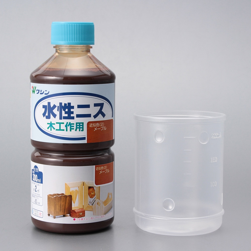 和信ペイント 水性ニス メープル 300ml