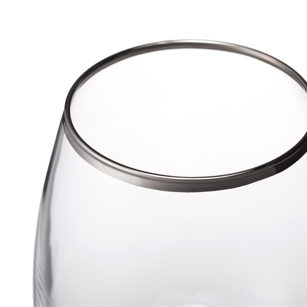 【trv】プラチナエッジワイングラス ボルドーM